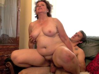 Mamie fait du porno avec son petit-fils _2